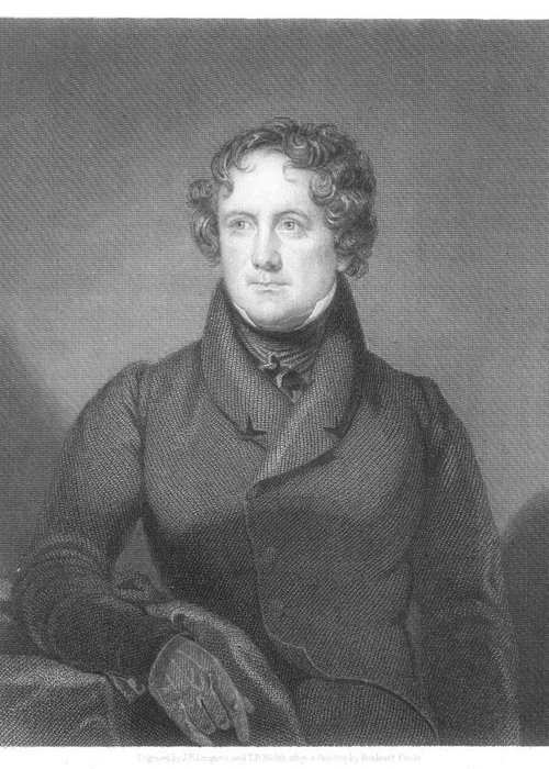 1839 Greeting Card featuring the photograph Nicholas Biddle (1786-1844) by Granger