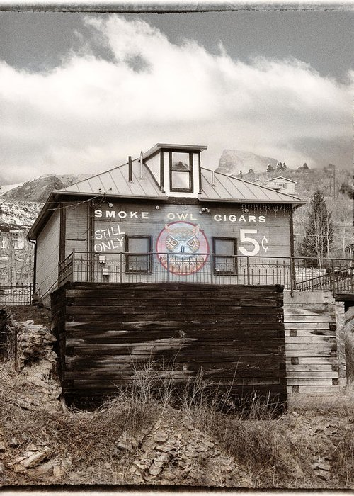 Colorado Greeting Card featuring the photograph Nickel Cigars by Julie Palencia