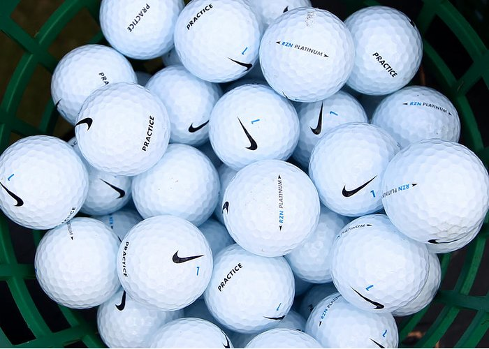 humedad árabe Terrible  Nike Golf Balls Greeting Card for Sale by Anthony King