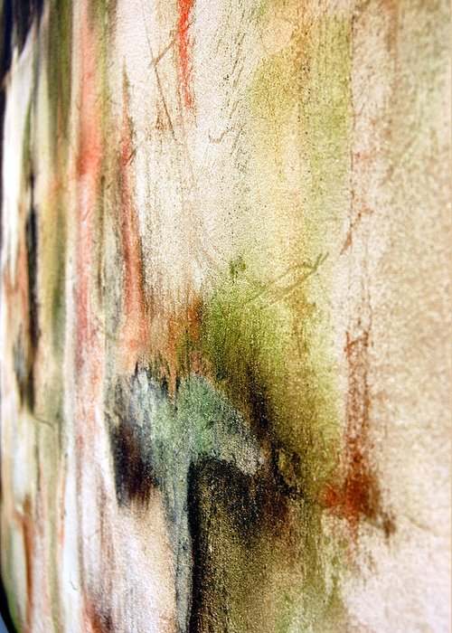 Abstract Greeting Card featuring the photograph Nj Abstract Four by Heather S Huston