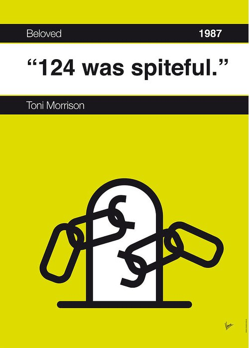 Toni Morrison Greeting Cards