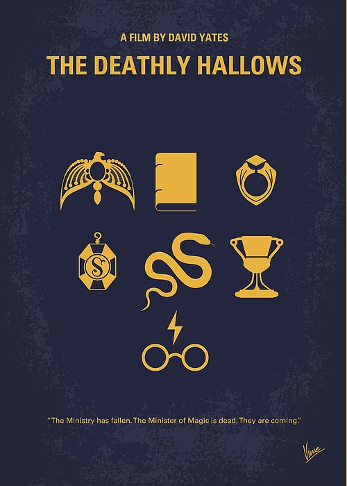 Deathly Hallows Greeting Cards