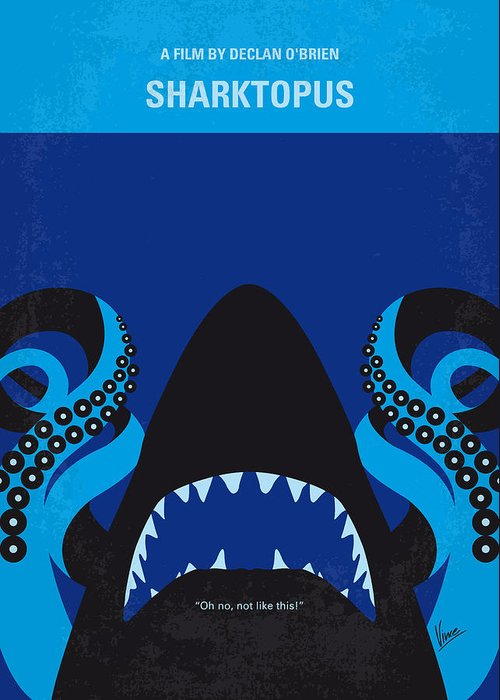 Sharks Digital Art Greeting Cards