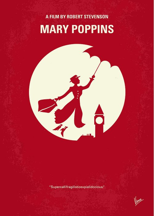 Mary Poppins Greeting Cards
