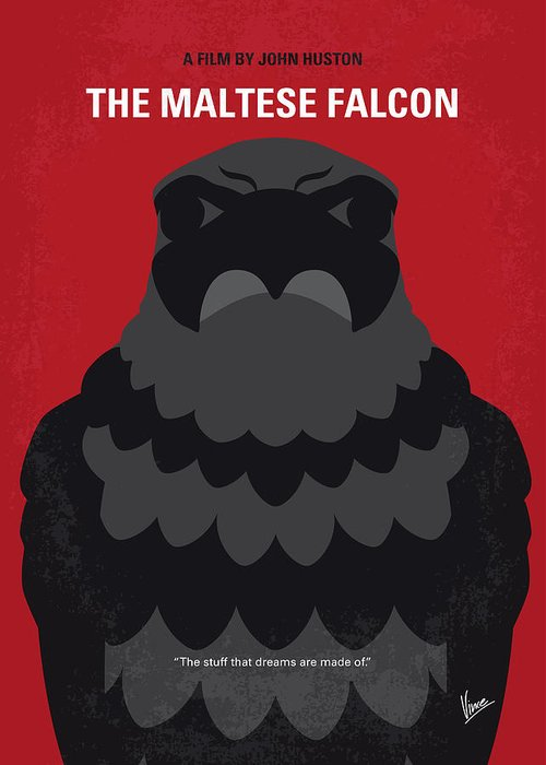 Maltese Falcon Greeting Cards