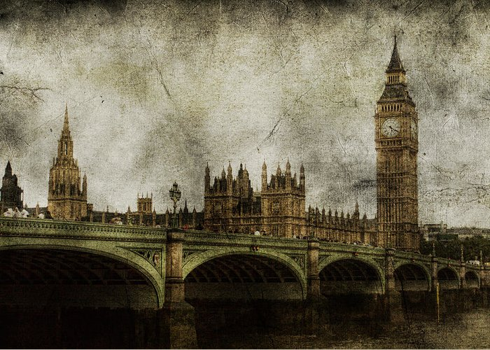 London Greeting Card featuring the photograph Noble Attributes by Andrew Paranavitana