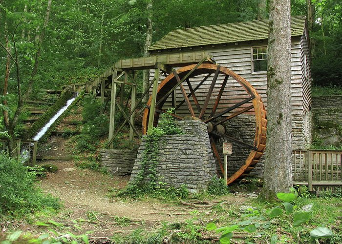 Grist Mill Greeting Card featuring the photograph Rice Grist Mill II by Douglas Stucky