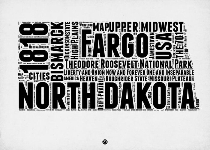 North Dakota Greeting Cards