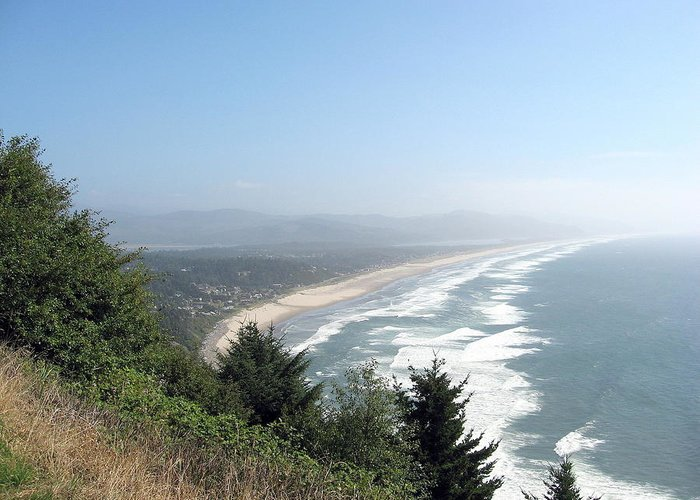 Oregon Greeting Card featuring the photograph North Oregon Coast Photograph by Kimberly Walker
