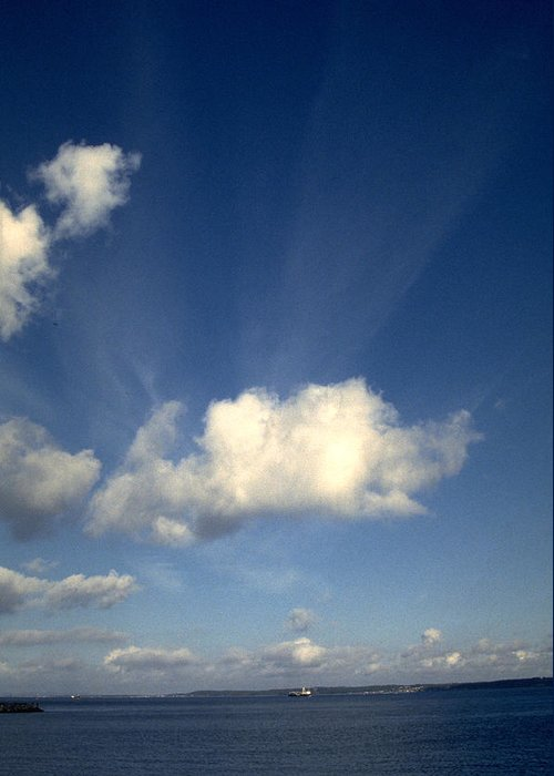 Northern Sky Greeting Card featuring the photograph Northern Sky by Flavia Westerwelle