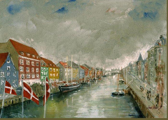 Copenhagen Denmark Greeting Cards