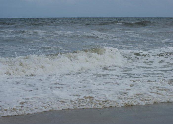 Virginia Beach Greeting Card featuring the photograph Ocean by Heidi Poulin