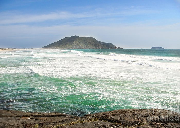 Atlantic Greeting Card featuring the photograph Ocean Relax by James Hennis