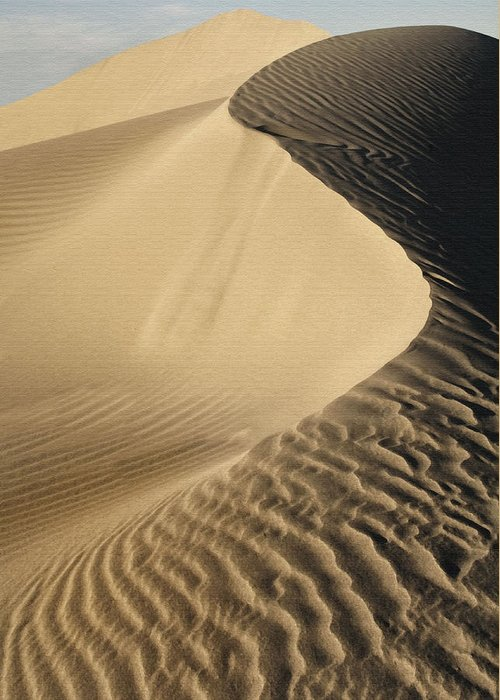 Sand Dunes Greeting Card featuring the photograph Oceano Dunes II by Sharon Foster