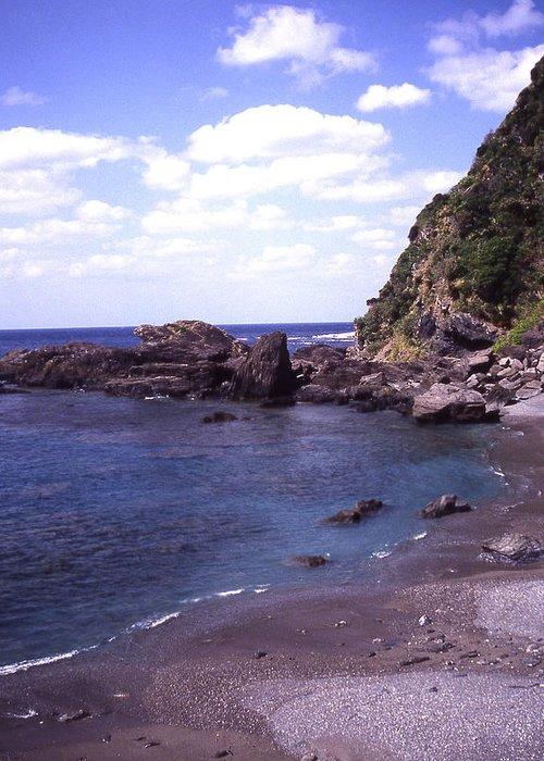 Okinawa Greeting Card featuring the photograph Okinawa Beach 5 by Curtis J Neeley Jr