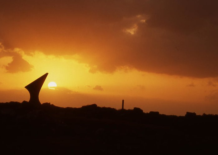 Greeting Card featuring the photograph Okinawa Sunset by Curtis J Neeley Jr