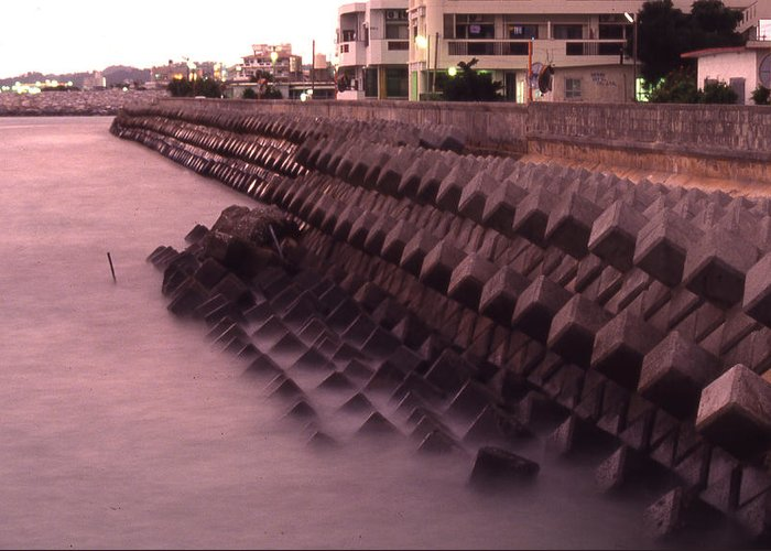 Okinawa Greeting Card featuring the photograph Okinawa Waves by Curtis J Neeley Jr