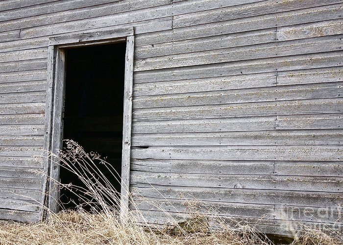 Old Barn Greeting Card featuring the photograph Old Barn 2 by Linda Bianic