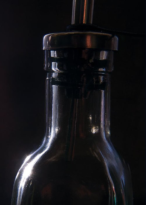 Bottle Greeting Card featuring the photograph Old Bottle by Steve Somerville