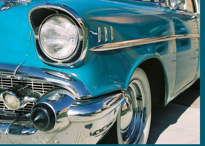 Chevy Greeting Card featuring the photograph Old Chevy by Steve Karol