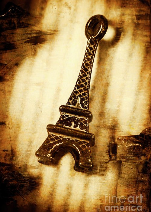 Old Fashion Eiffel Tower Souvenir Greeting Card for Sale by Jorgo ...
