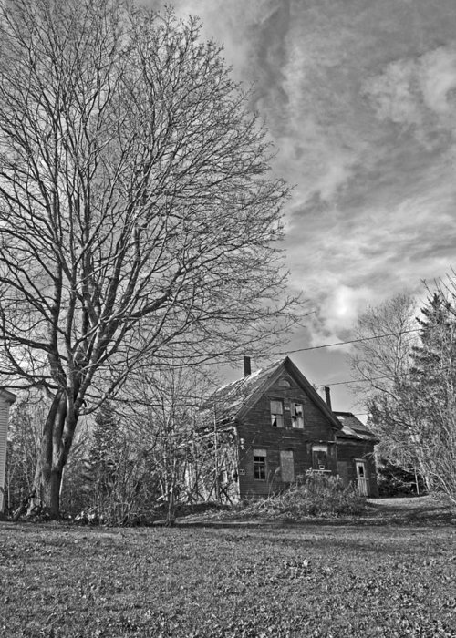 Landscape Greeting Card featuring the photograph Old Homestead by Doug Mills