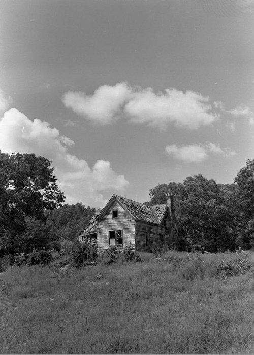 Greeting Card featuring the photograph Old Housw by Curtis J Neeley Jr