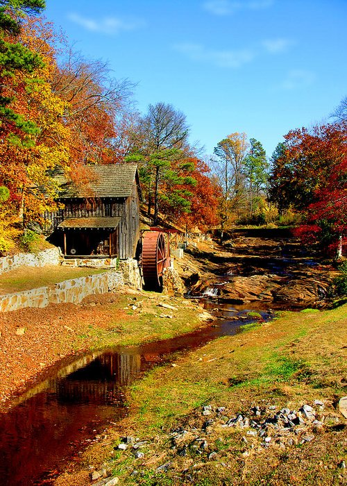Mill Greeting Card featuring the photograph Old Mill by Ralph Perdomo