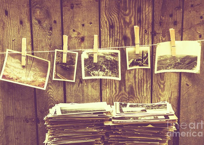 Still-life Greeting Card featuring the photograph Old Photo Archive by Jorgo Photography - Wall Art Gallery