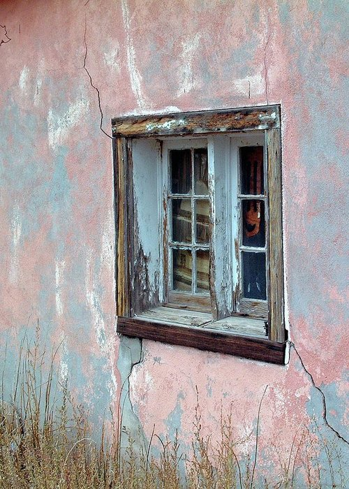 Window Greeting Card featuring the photograph Old Window by George Elliott
