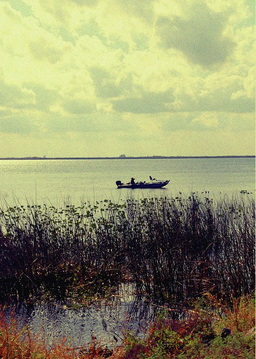 Boat Greeting Card featuring the photograph On A Sunny Sunday Afternoon by Susanne Van Hulst