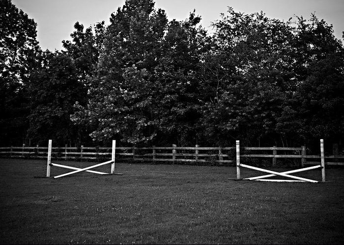 Fences Greeting Card featuring the photograph Once Upon A Time by Hannah Breidenbach