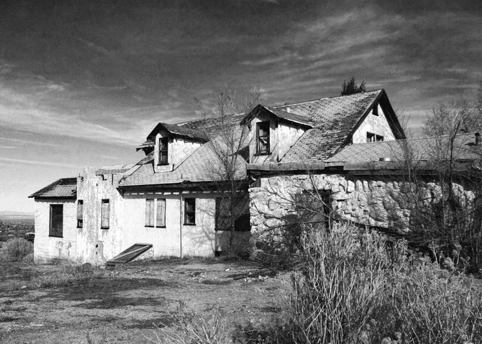 Old House Greeting Card featuring the photograph Once Upon A Time In The Desert 2 by Glenn McCarthy Art and Photography