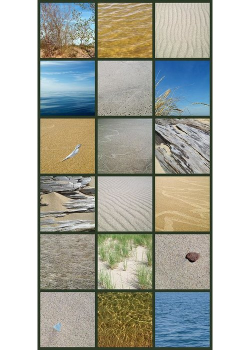 Nautical Greeting Card featuring the photograph One Day At The Beach Ll by Michelle Calkins