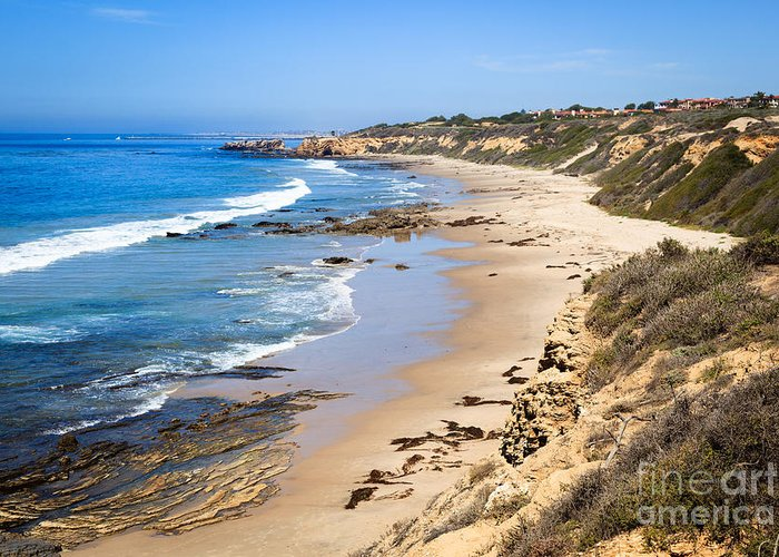 America Greeting Card featuring the photograph Orange County California by Paul Velgos