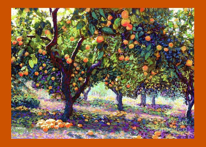 Tangerines Greeting Cards