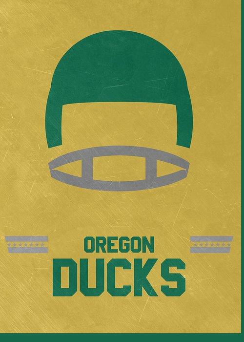 Oregon Duck Football Greeting Cards