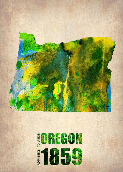 Oregon State Greeting Cards