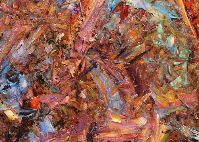 Abstract Expressionism Greeting Cards