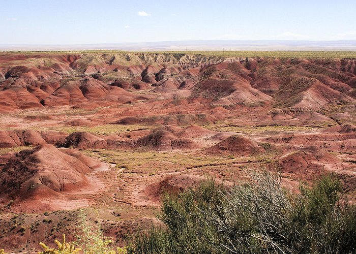 Photography Greeting Card featuring the photograph Painted Desert 0249 by Sharon Broucek