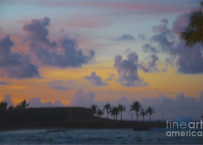 Clouds Greeting Card featuring the photograph Painterly by Amanda Sinco