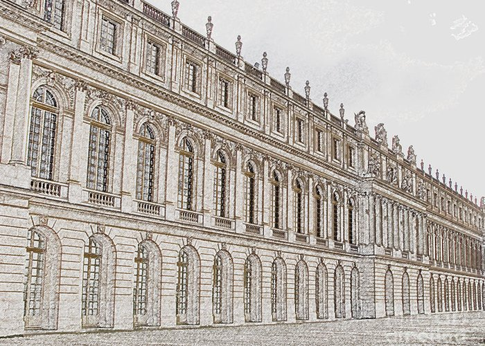 France Greeting Card featuring the photograph Palace Of Versailles by Amanda Barcon