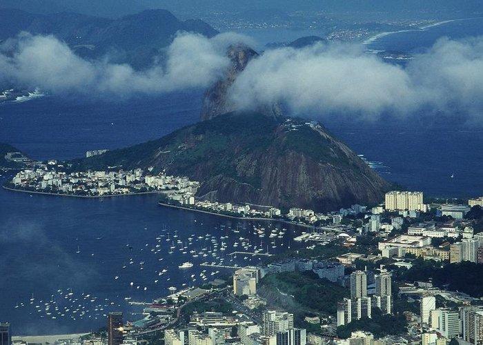 South America Greeting Card featuring the photograph Pan De Azucar - Rio De Janeiro by Juergen Weiss