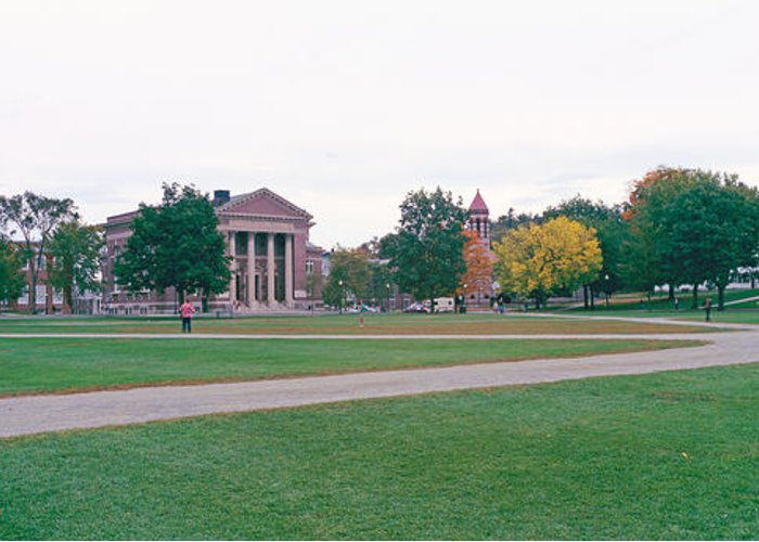 College Buildings Images Greeting Cards
