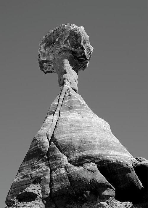 Black Greeting Card featuring the photograph Paria Utah II by Dave Gordon