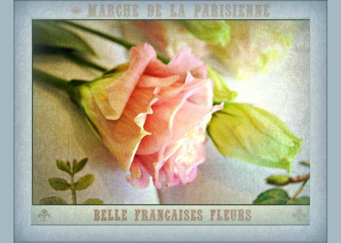 Parisienne Digital Art Greeting Cards