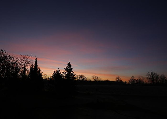 Sun Greeting Card featuring the photograph Pastel Dawn by Jeff Roney