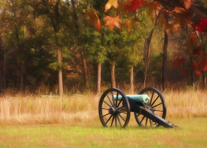 American Greeting Card featuring the photograph Pea Ridge by Lana Trussell