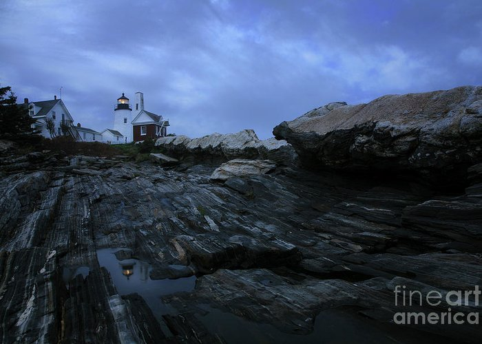 Pemaquid Greeting Card featuring the photograph Pemaquid by Timothy Johnson