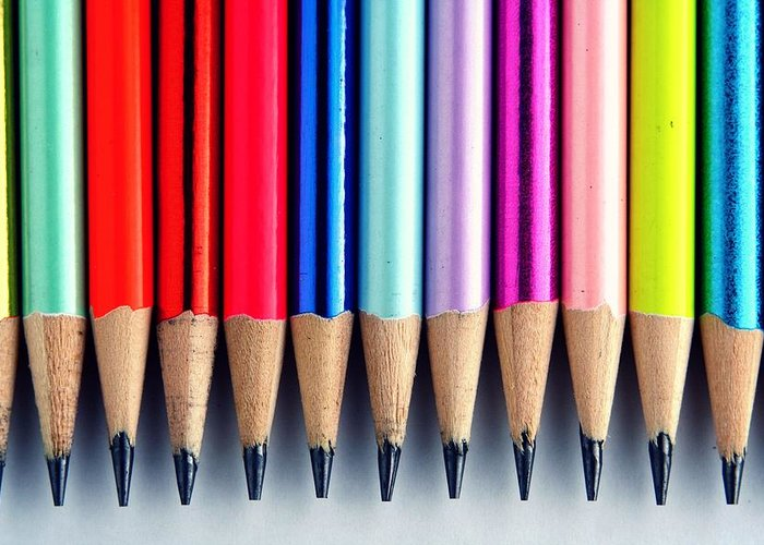 Pencil Greeting Cards